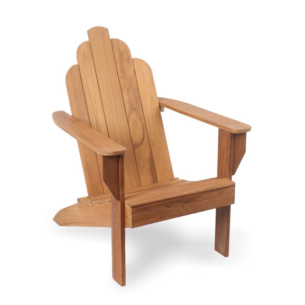Cambridge Casual Heaton Teak Wood Adirondack Chair Wood Adirondack Chairs Teak Wood Teak Adirondack Chairs