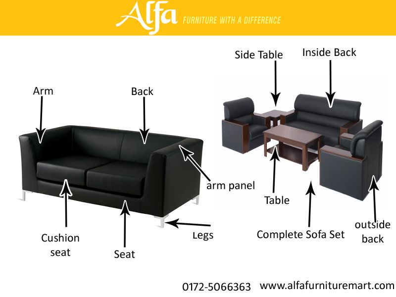 office sofa set designs and specification by alfa furniture mart ...