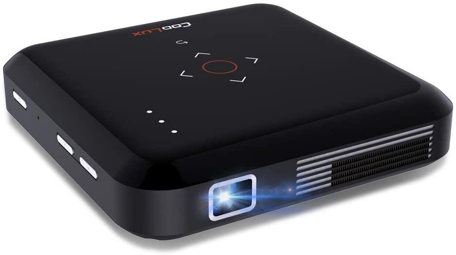 Funcilit Portable Dlp Video Projector Rechargeable Pocket Mini Pico Projector Projectors Funcilit In 2020 Video Projector Projector Pico Projector