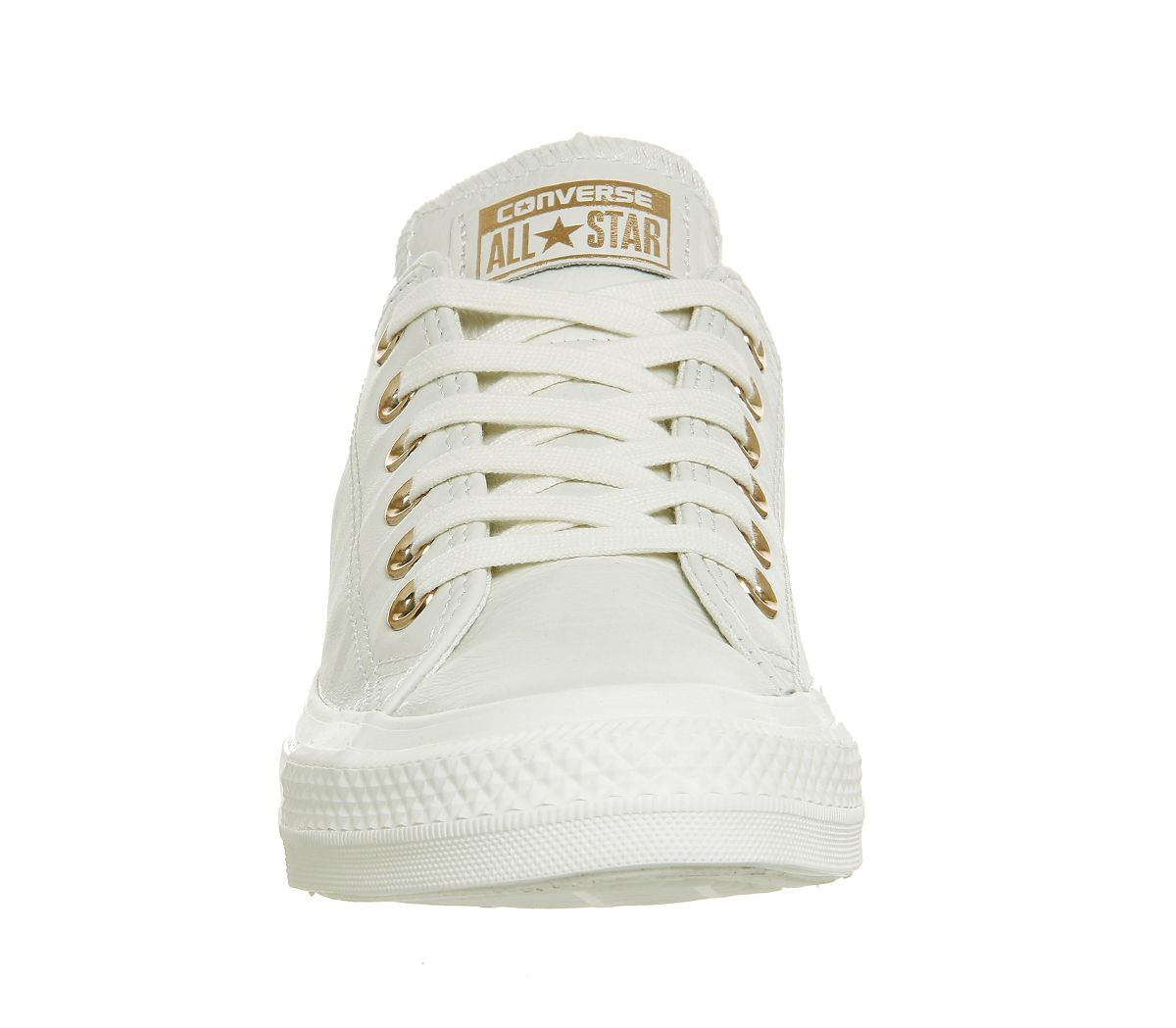 126020823bbe Buy Egret Rose Gold Exclusive Converse All Star Low Leather from  OFFICE.co.uk.