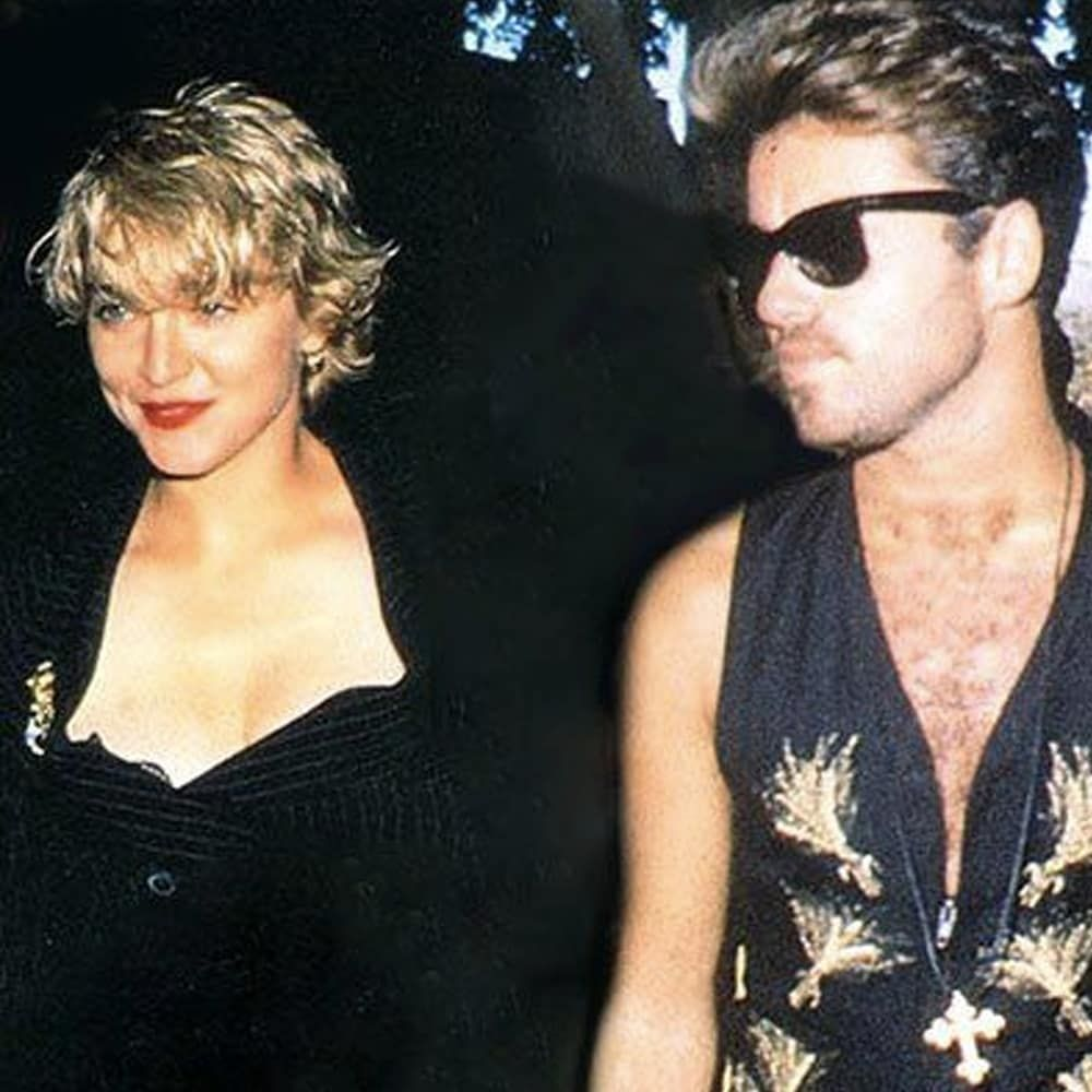 Madonna80s On Instagram Love Instagood Fashion Beauty Music Blonde Blueeyes Blondehair George Michael George Michael 80s George Michael Music