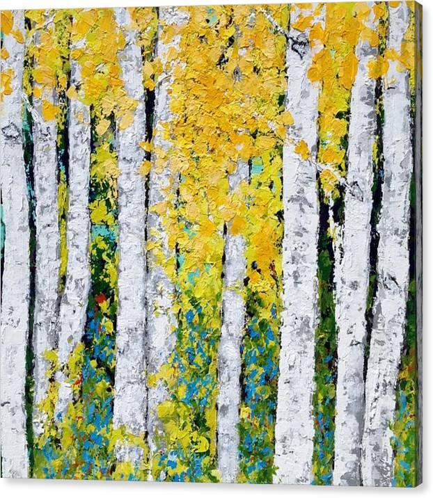 Aspen Grove Canvas Print / Canvas Art by Vicki Conlon George