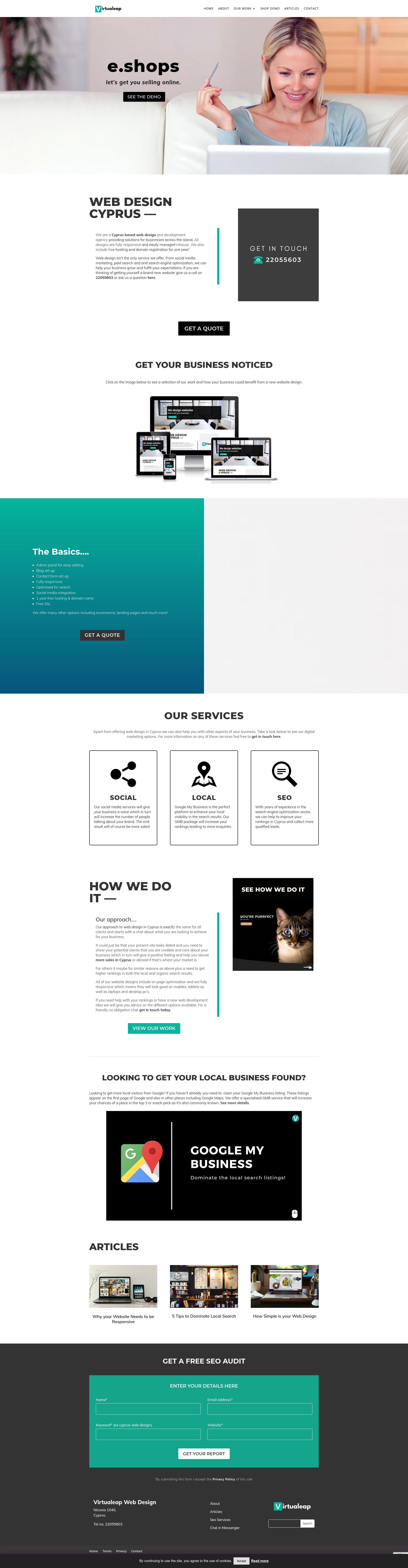 Pin On Web Design Portfolio