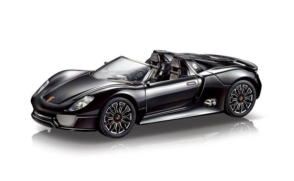 Braha Industries Porsche 918 Spyder 1:24 Scale R//C Car Black