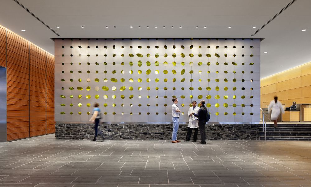 LTL MSK Lobby Wall | SCREEN | Pinterest | Lobbies, Walls ...