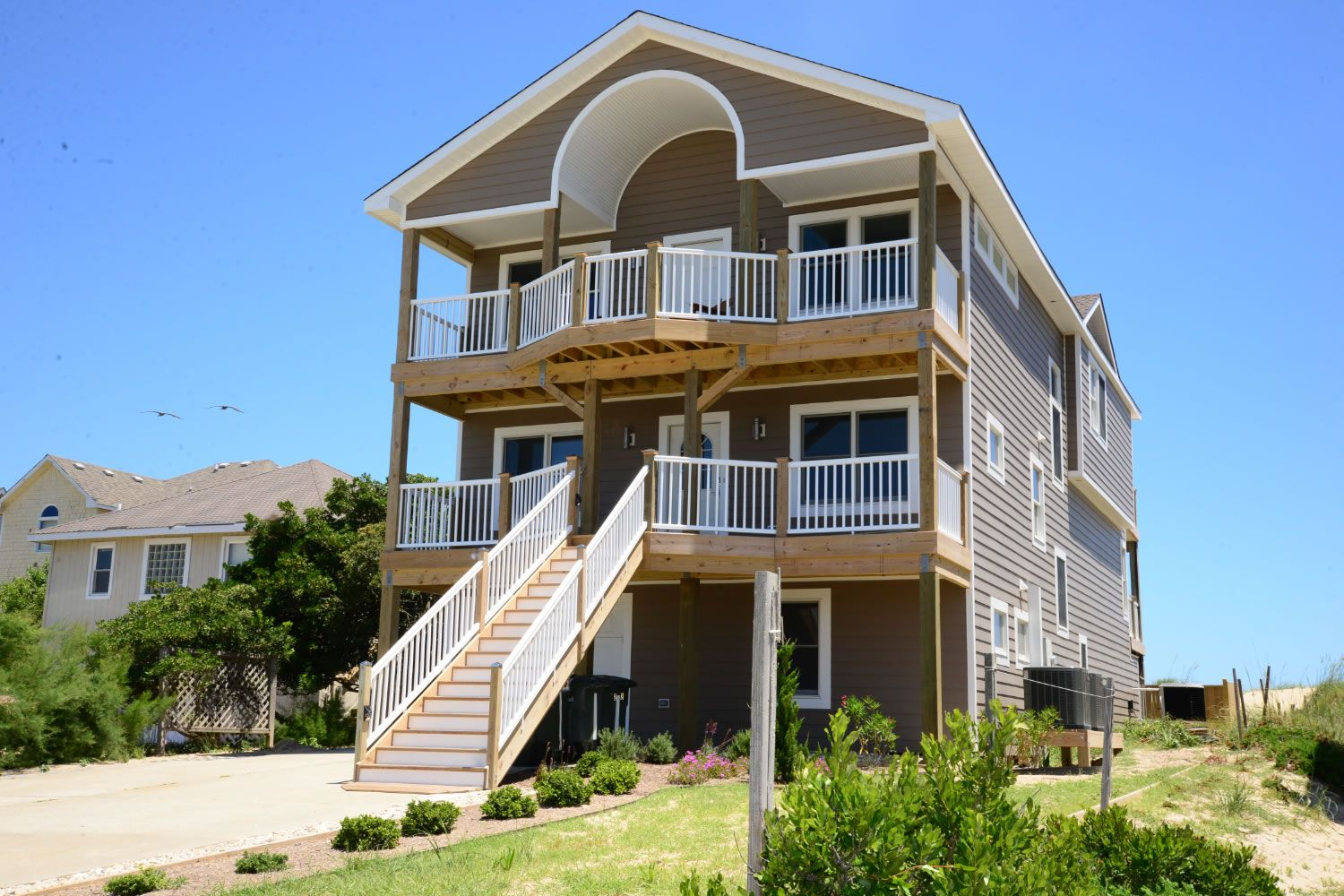 outer harry an of obx vacation house beach is s oceanfront banks harbor cottages rentals awesome