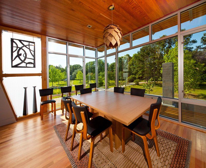 The Pond House At Ten Oaks Farm Angled Sustainable And Energy