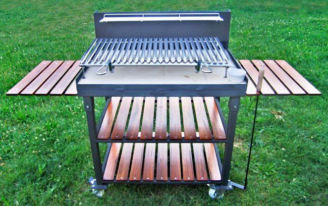 Barbecue Mobili Da Giardino.Come Costruire Un Barbecue In Ferro Casette Fai Da Te Caminetti Rustici