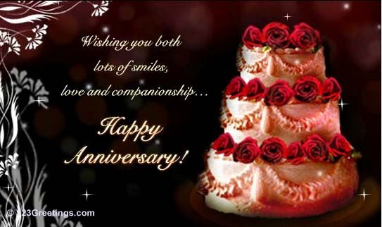 free anniversary cards for brother and sister in law