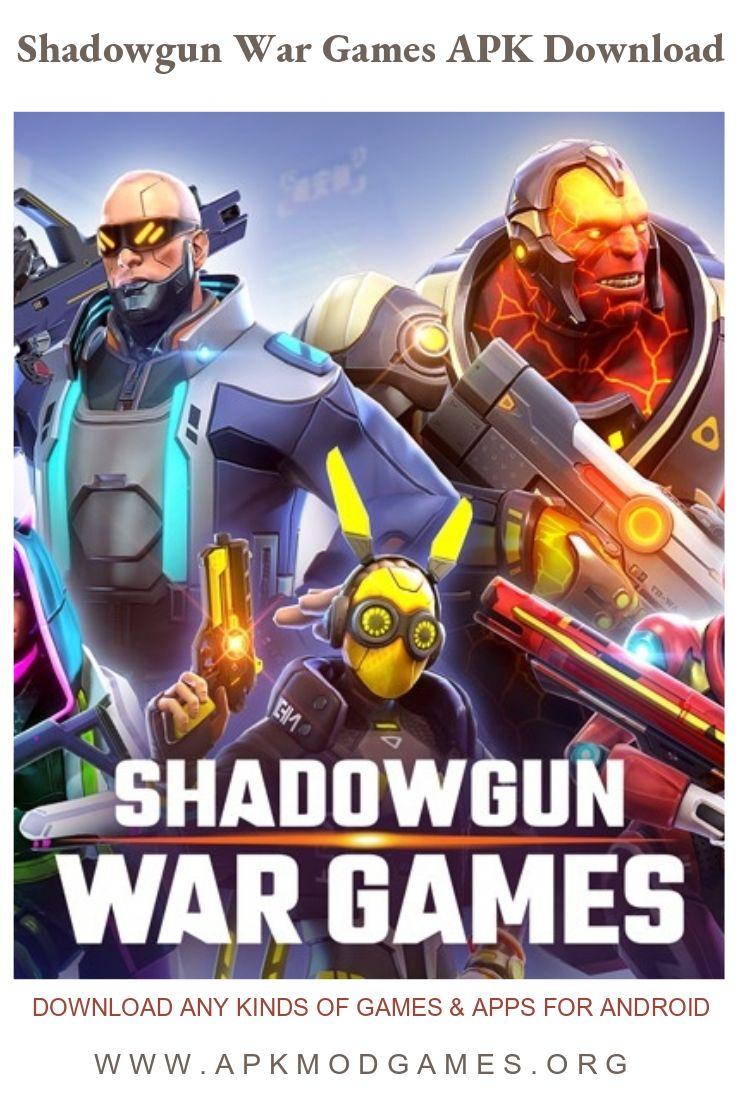 Shadowgun War Games Online PvP FPS APK v0.1.5 Android