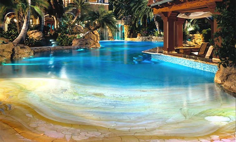 Luxury Swimming Pools With Waterfalls swimming pools pictures | new home design - luxury decor