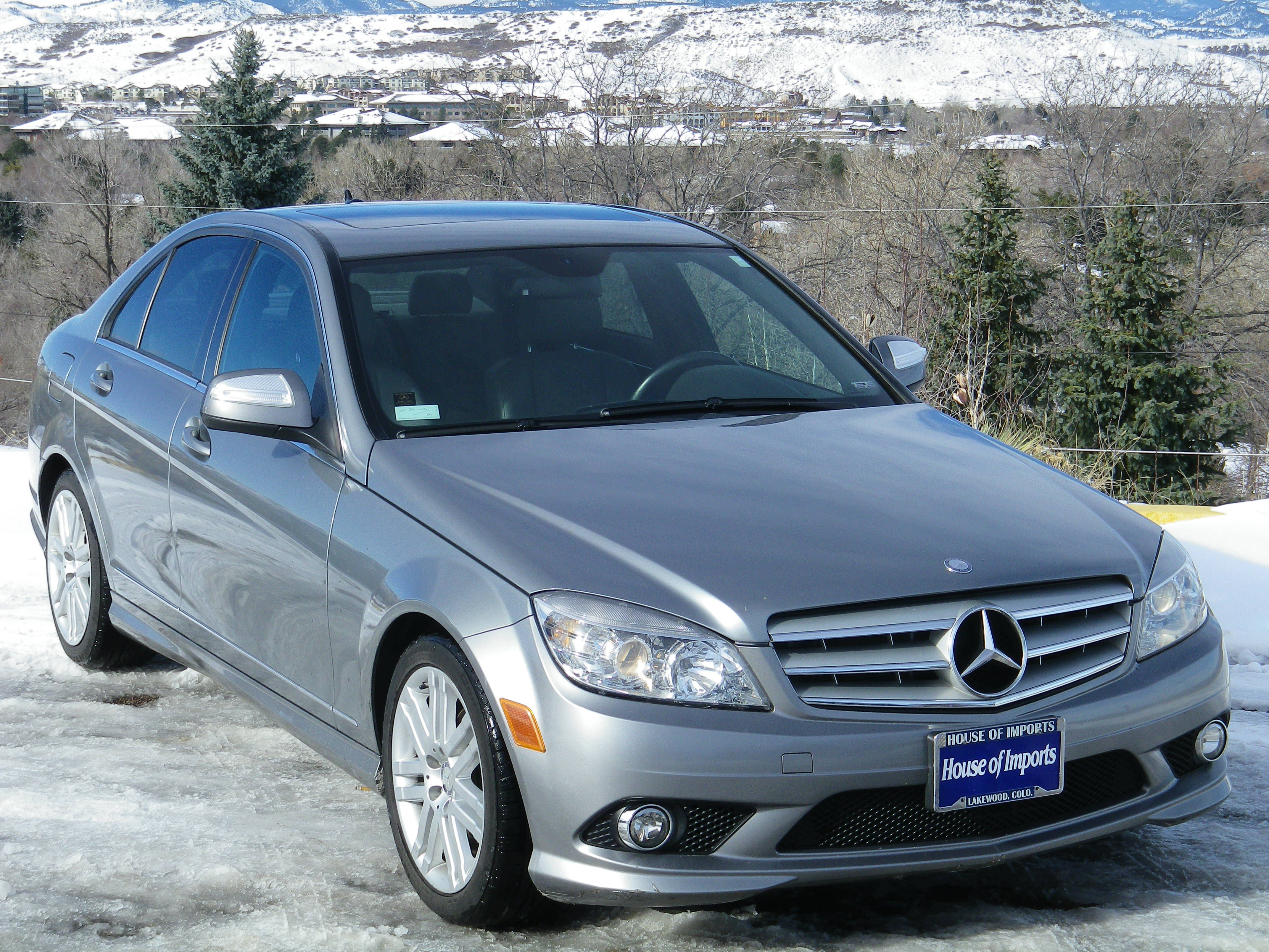 2008 Mercedes Benz C300 4 Matic Odometer 79 455 V I N