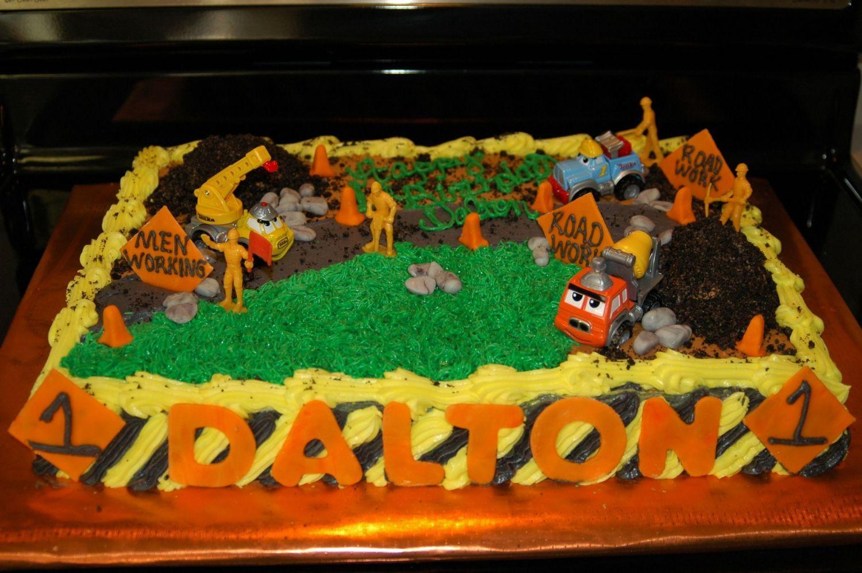 Construction Cakes Construction cake half sheet Trentons