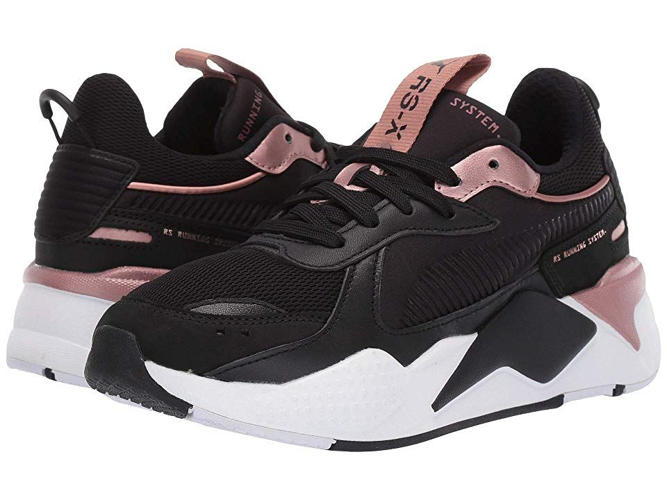 meilleure sélection 2377c 32e40 PUMA RS-X Trophy Women's Classic Shoes Puma Black/Rose Gold ...