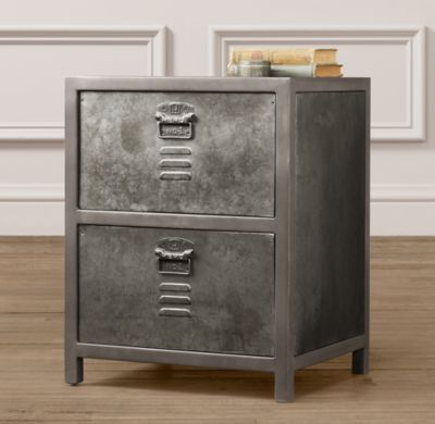 Vintage Locker Nightstand | Nightstands & Side Tables | Restoration  Hardware Baby & Child