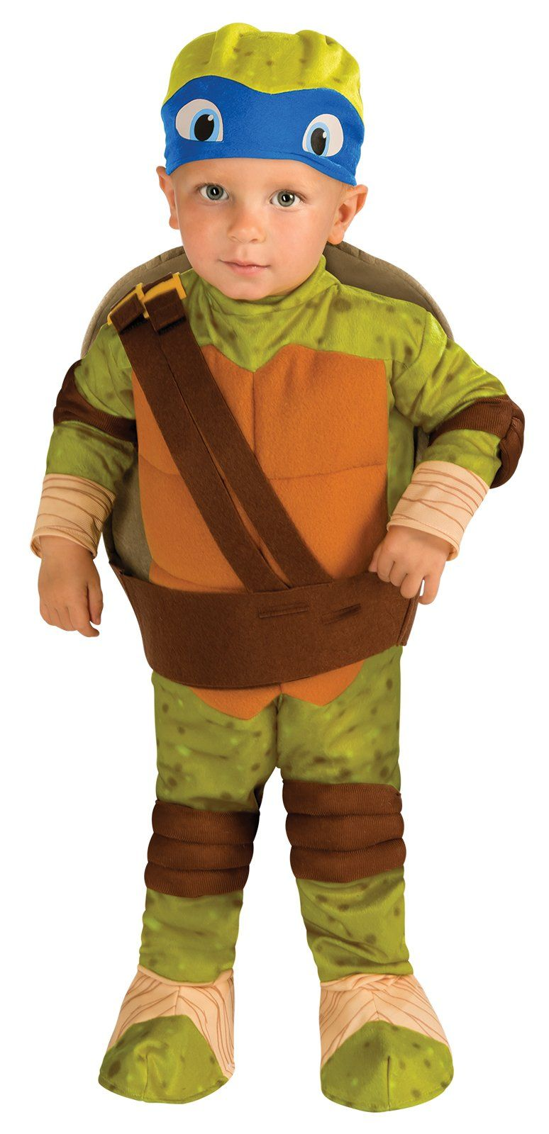 Teenage Mutant Ninja Turtle - Leonardo Toddler Costume***This is what my son Brody is wearing this Halloween!!! Purchased and ready.. I canu0027t remember ...  sc 1 st  Pinterest & Leonardo Toddler Ninja Turtles Costume | Pinterest | Ninja turtle ...