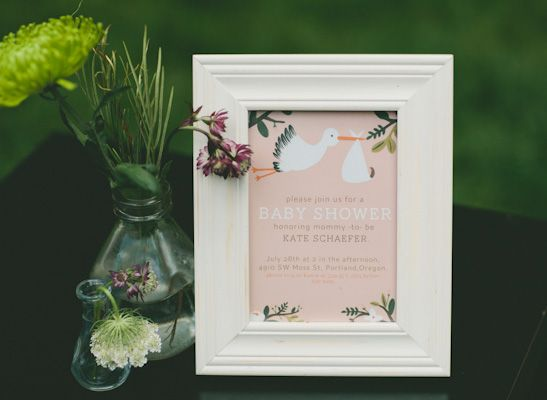 stork baby shower invitation by rifle paper co.   inspired,