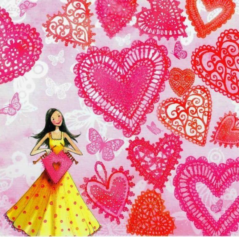 Love Cute Illustration Marquise Whimsical Artwork
