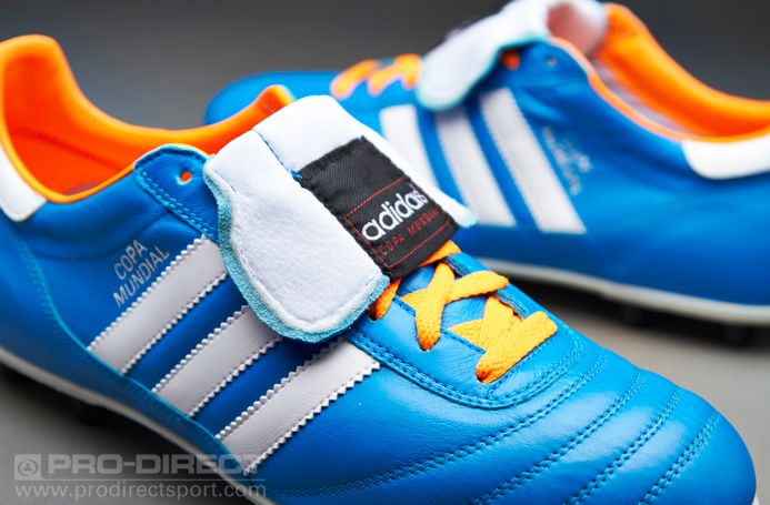 adidas Copa Mundial Samba FG - Blue/White/Zest | Shoes ...