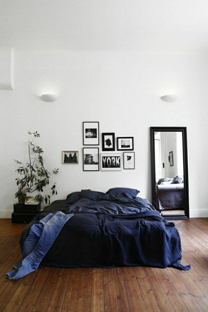 Le Parquet Blanc Une Jolie Tendance Deco Archzine Fr Parquet Blanc Deco Chambre Idees Chambre