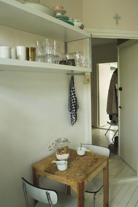 Pieneenkin tilaan voi saada kivan keittiön