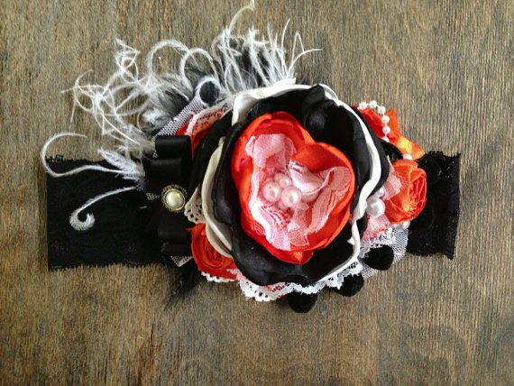 Hey, I found this really awesome Etsy listing at https://www.etsy.com/listing/159563715/candy-corn-custom-couture-headband