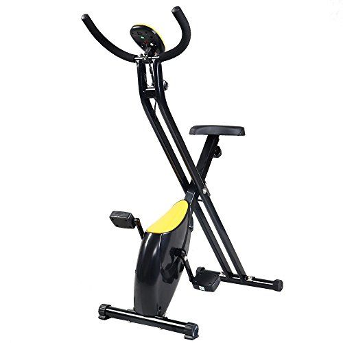 Folding Exercise Bike Home Trainer Fitness Cycling Magnetic