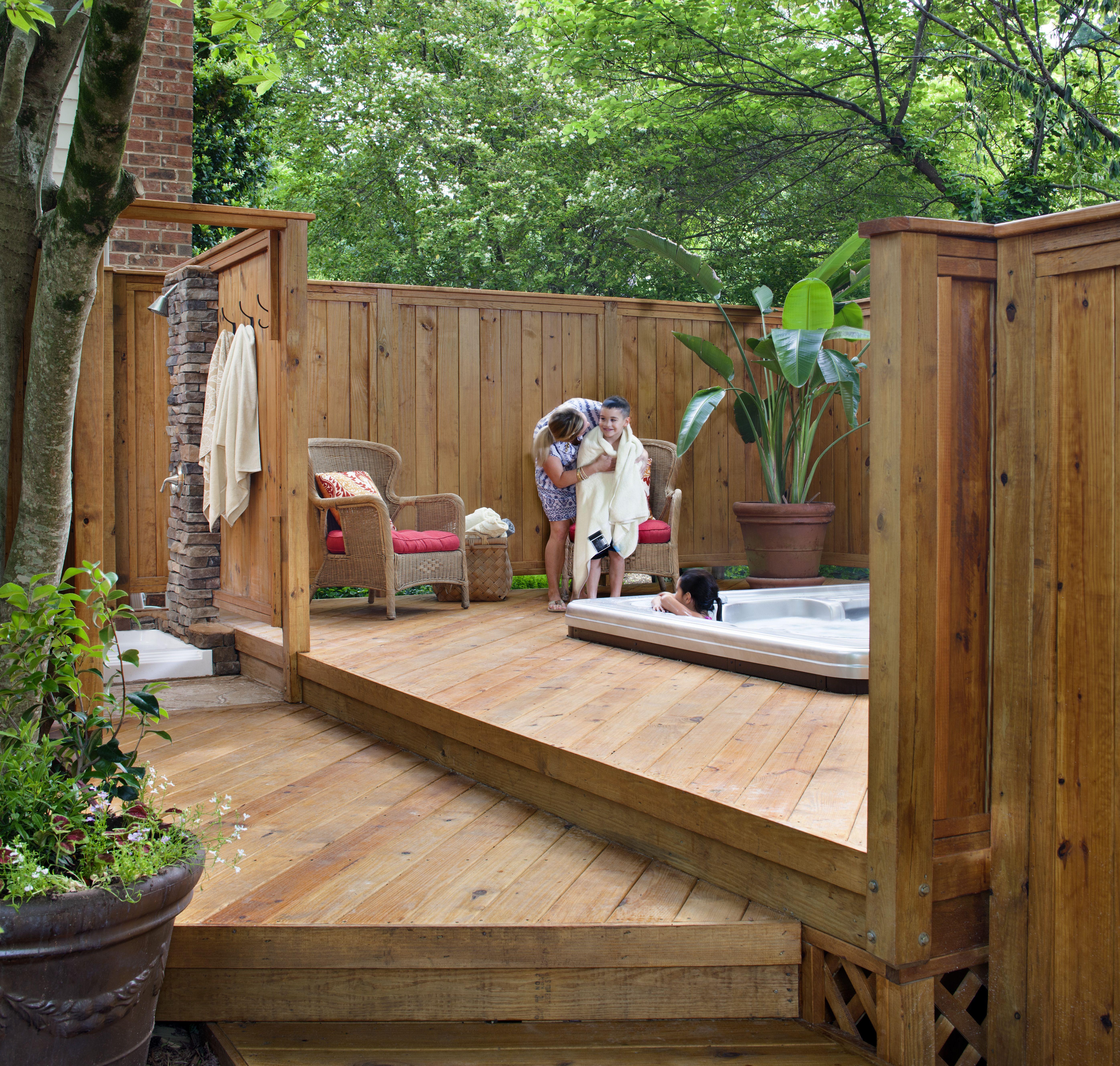 Furniture Landscaping Fencing Walnut Wood Outdoor Living