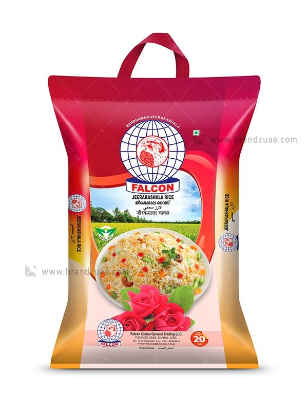 Download Falcon Jeerakasala Rice Bag Brandz Uae Rice Bags Bags Rice