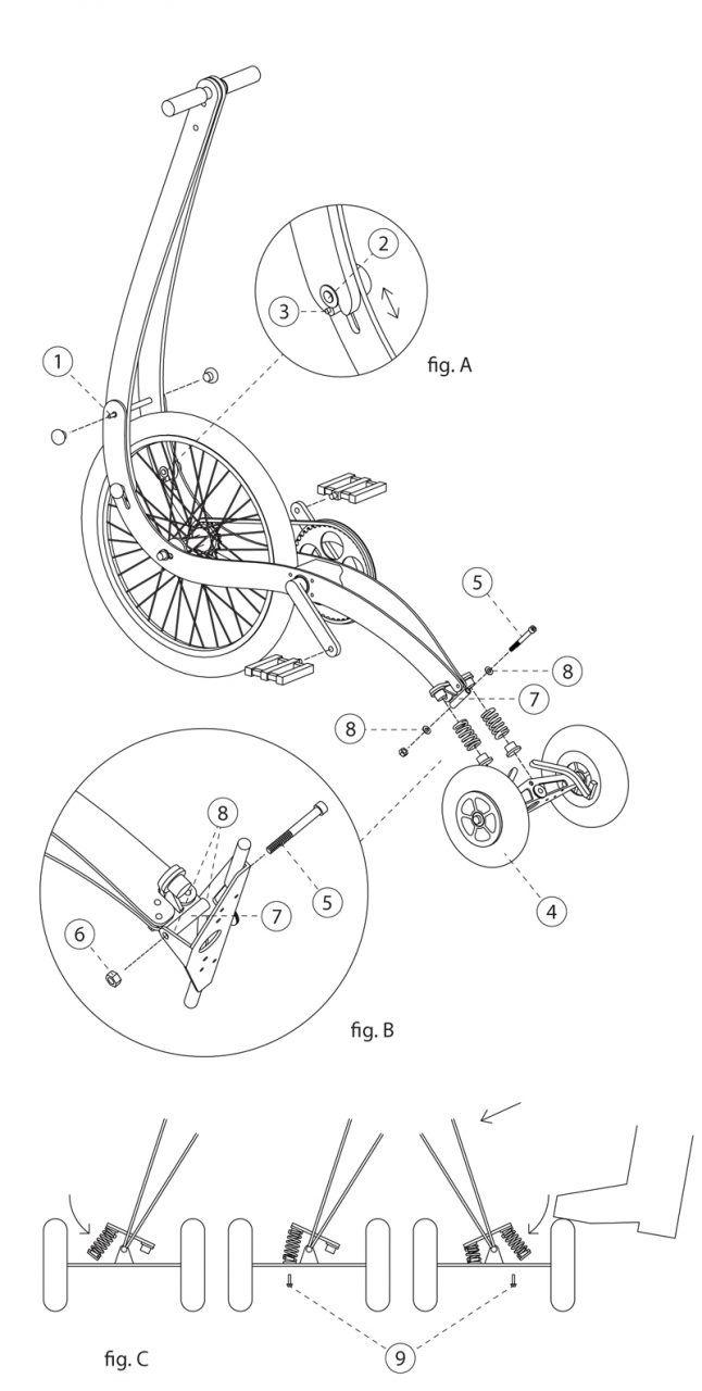 halfbike_manual_a4_1 | Biciclete personalizate, Biciclete