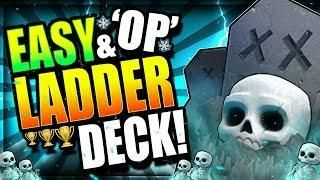 My New Favorite Graveyard Deck Best Ladder Deck Clash Royale