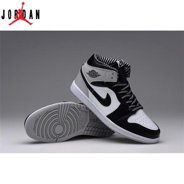 pretty nice 6aaac 4a812 Air Jordan 1 Retro High OG Black White-Grey Men s Shoe,Jordan-Jordan
