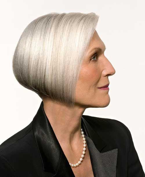 9. Bob Haircut for Older Women Classy Bob   Going Gray ...