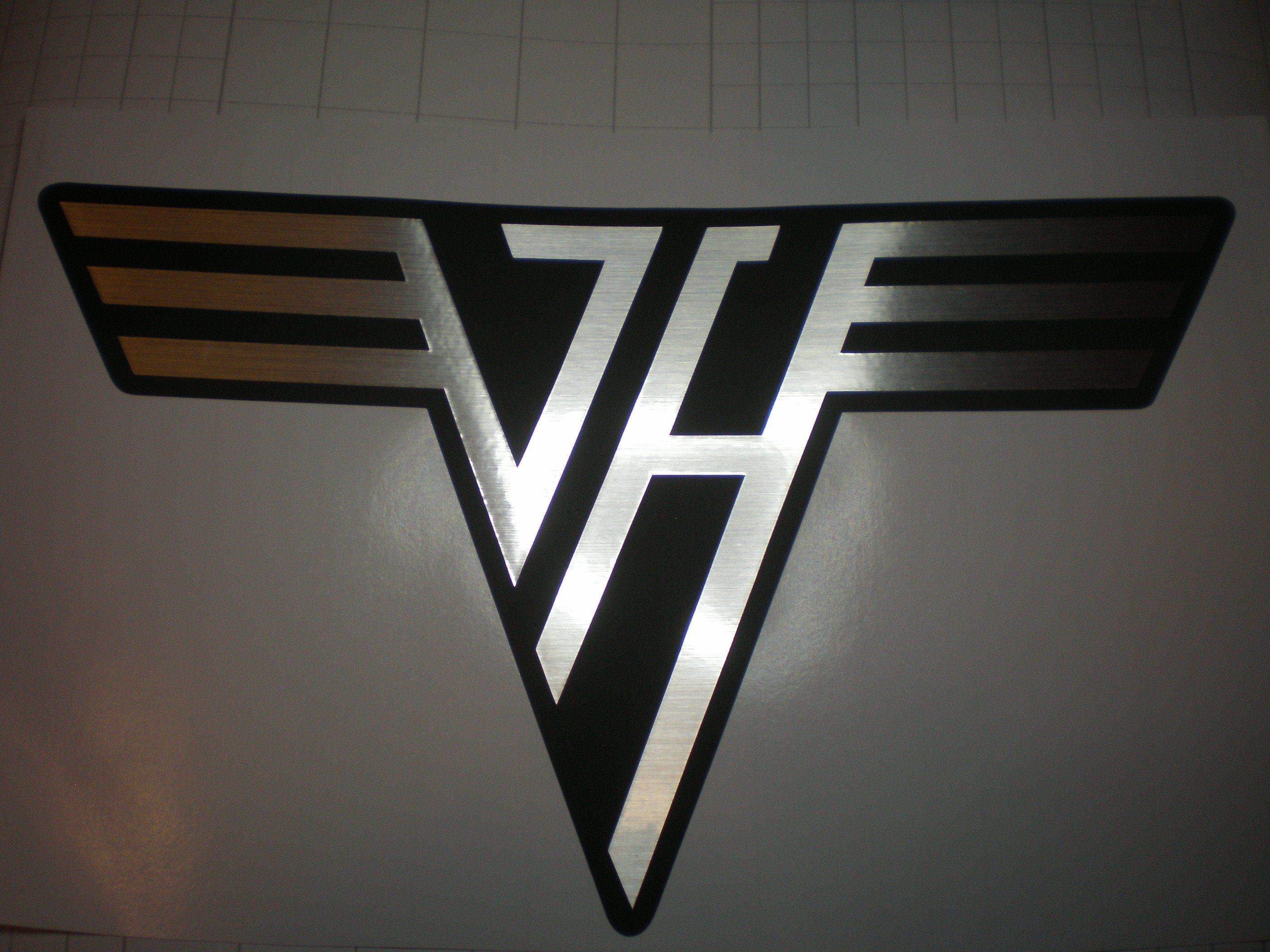 Van Halen Logo Permanent Vinyl Decal Laptop Decal Tablet Etsy Van Halen Logo Vinyl Decals Van Halen