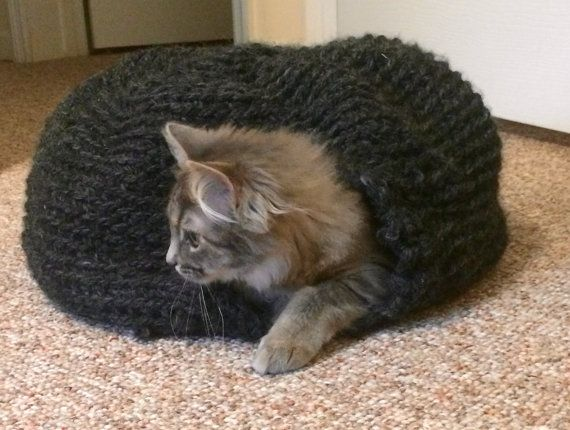 Crochet Cat Nest | Cat Cocoon | Bed | Kitten Nest | Kitten Bed | Cat