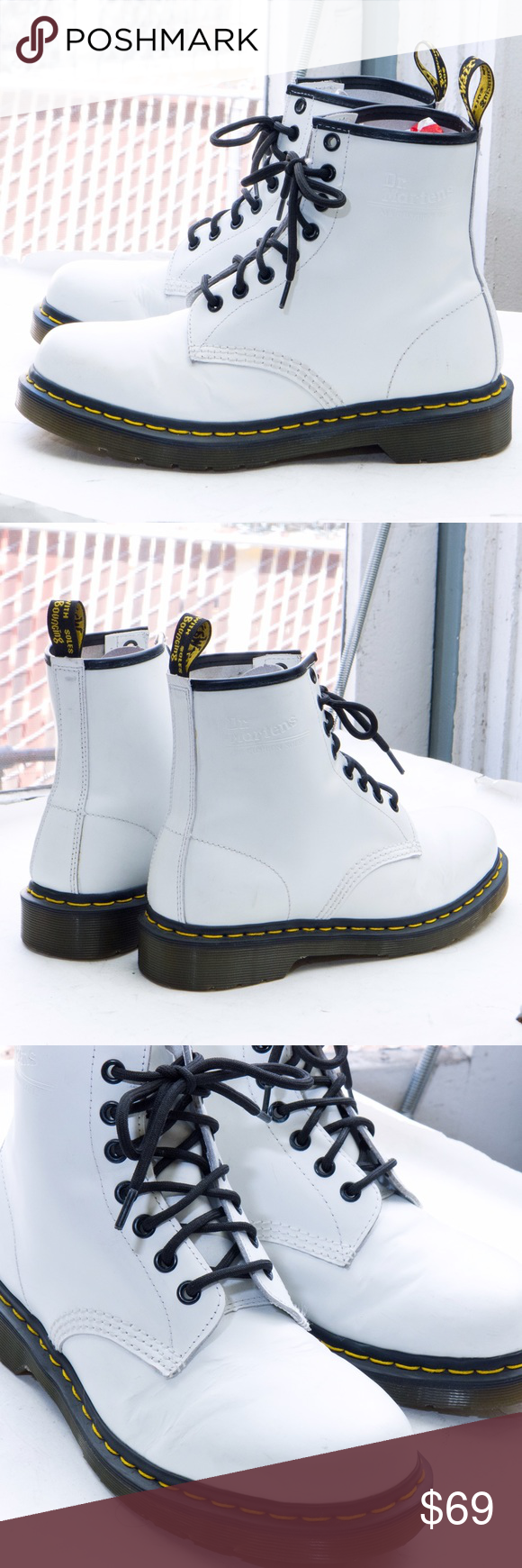 Dr. Martens 1460 smooth boot - 8 eye combat The original boot you think of 55954993c95