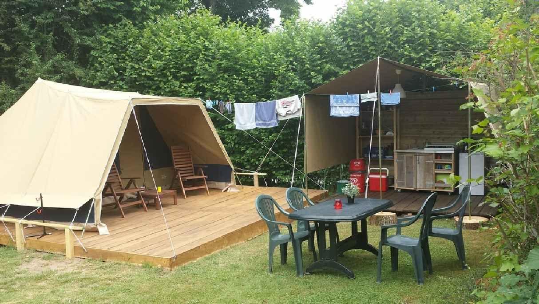 Fonkelnieuw buitenkeuken van piramidetent | glamping - Tent, Huren en Camping CX-27