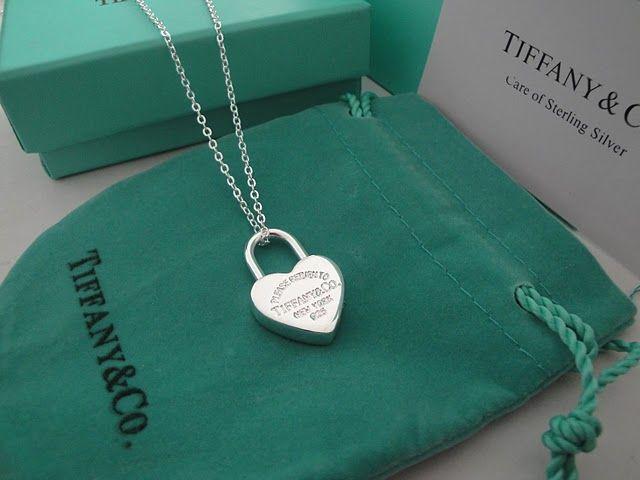 Tiffany heart lock necklace necklaces pinterest tiffany and tiffany heart lock necklace aloadofball Choice Image