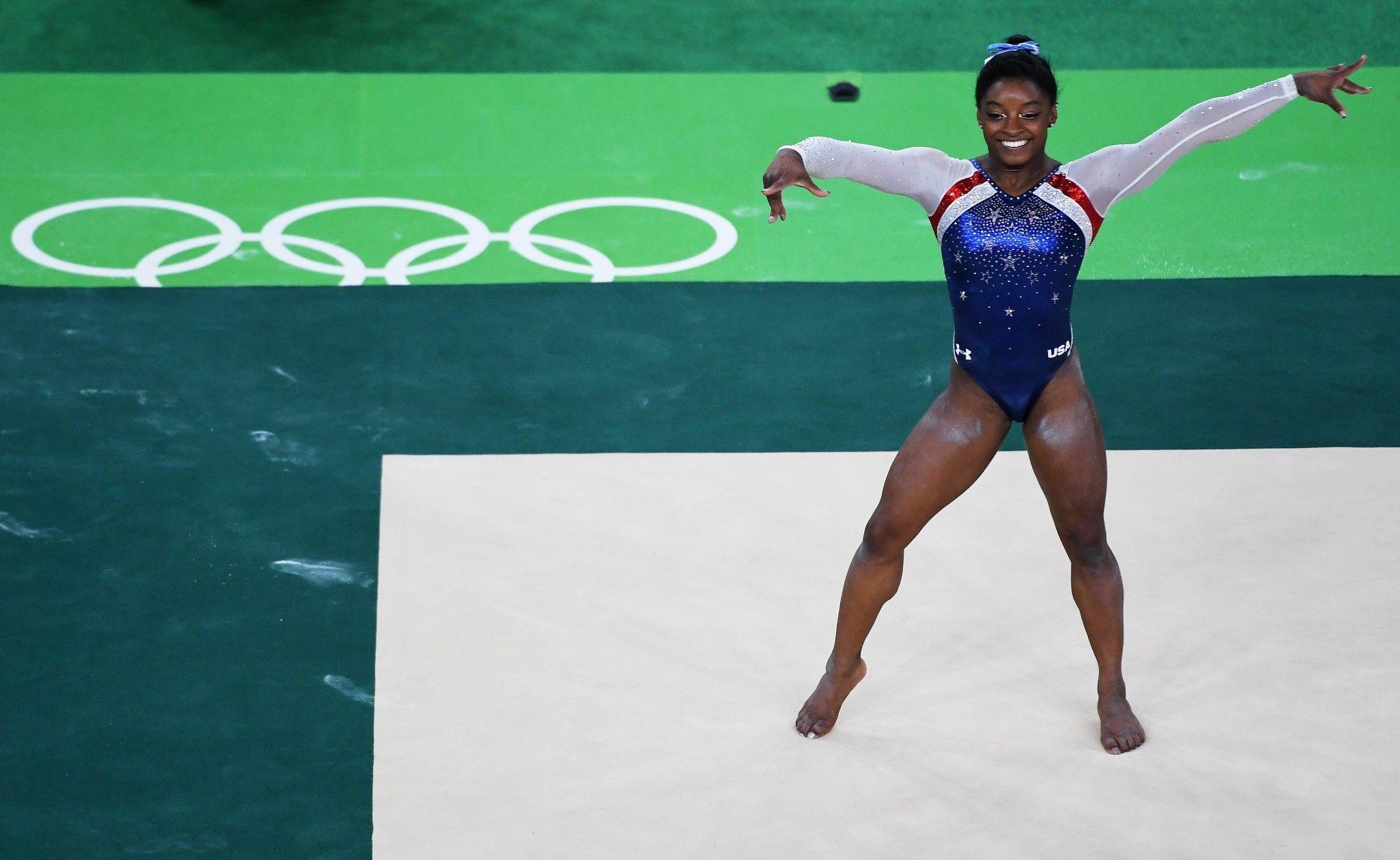 Simone Biles wins floor exercise for fourth gold medal of
