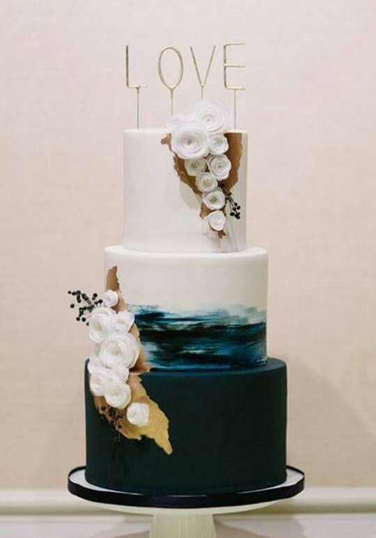 Unusual cakes are trending try different ombre effects Here