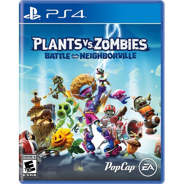 Plants Vs Zombies Battle For Neighborville Electronic Arts Playstation 4 014633370768 Walmart Com Xbox One Games Plants Vs Zombies Xbox One