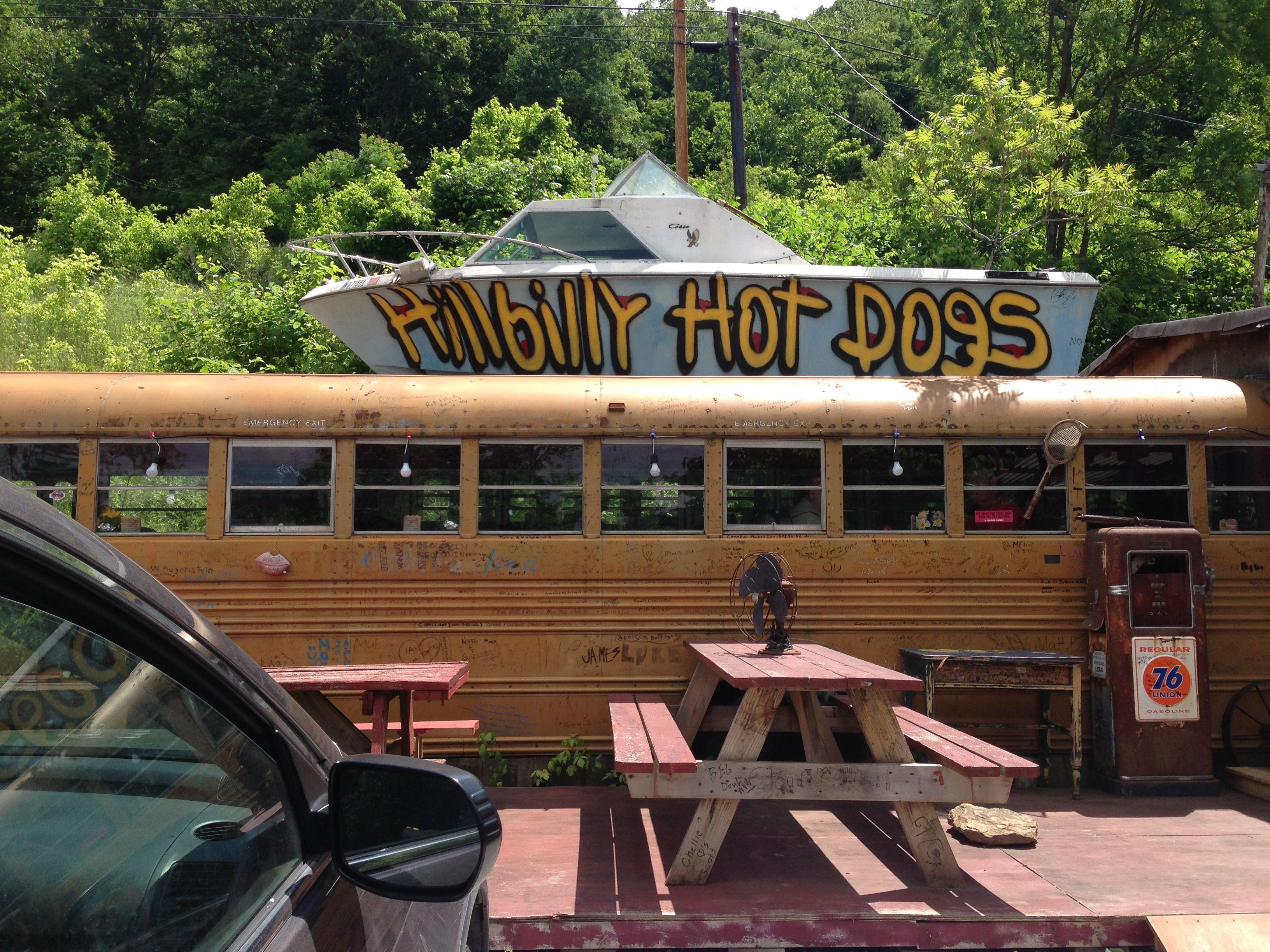 Diners, Drive-Ins & Dives; Hillbilly Hotdogs, Lansing, WV ... on