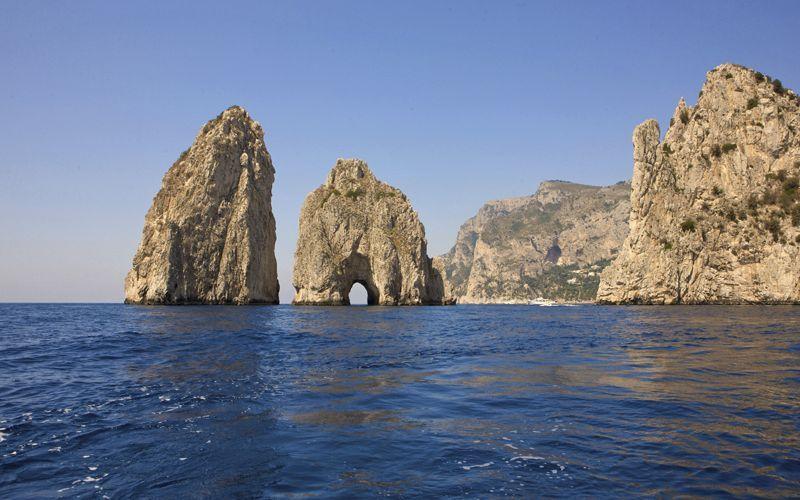Capri - The Faraglioni of Capri