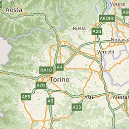 Alba Cartina Geografica.Mappa Di Alba Cap 12051 Tuttocitta Mappa Alba Mappe