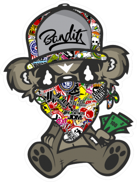 Sticker Bomb Jdm Bandit Assis Paul Stickers Jdm Drift Graphics