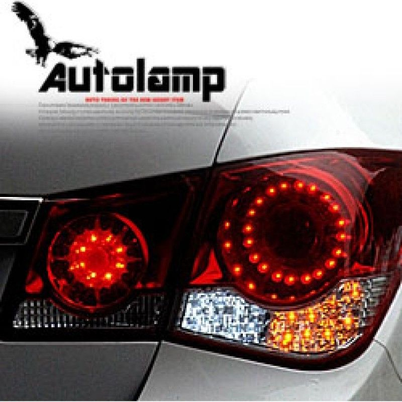 Auto Lamp Infiniti Style Led Taillights Set For Chevrolet Cruze