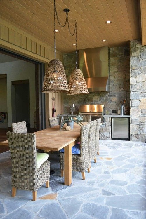 9 Enchanting Outdoor Lighting Ideas For Your Home Small Outdoor Kitchens Outdoor Kitchen Design Outdoor Pendant Lighting
