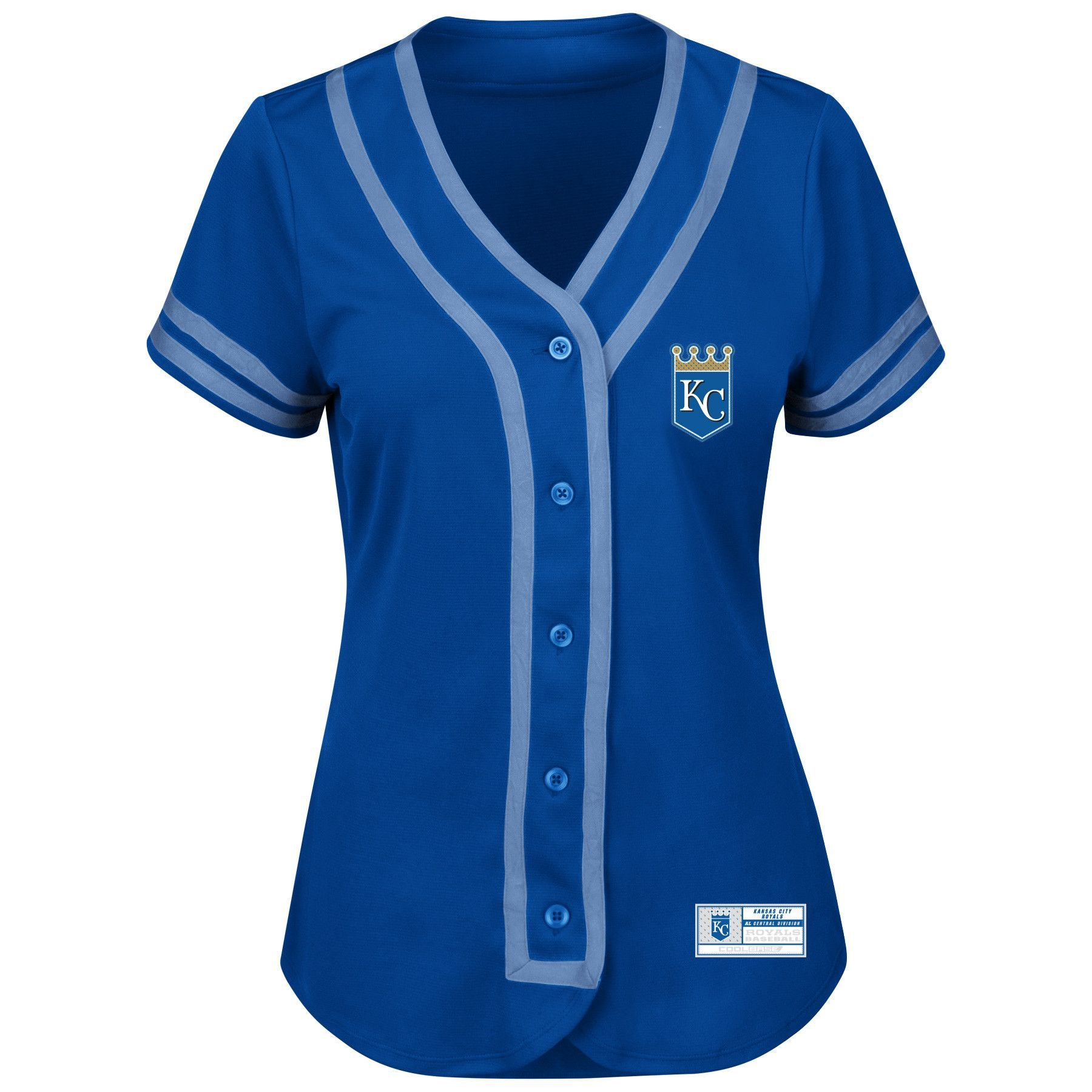 Kansas City Royals Absolute Victory Ladies Fashion Jersey by Majestic
