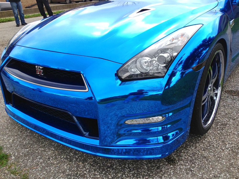 My 300zx 3m Car Wrap Matte Metallic Blue 300zx Z32 General Car Wrap Chrome Cars Metallic Blue