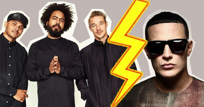 Major Lazer, DJ Snake continue close battle for singles Number 1